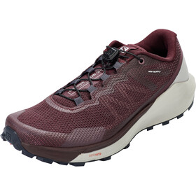 Salomon Sense Ride 3 Shoes Women wine tasting/alloy/burnt coral